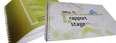 Impression Rapport de Stage paris